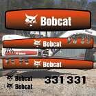 331 DECALS 331 Stickers Bobcat 331 Decal STICKER Kit Mini Excavator