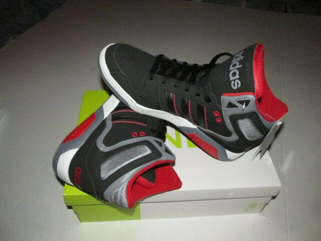 1366c0a5afb8f Adidas Neo Label BB9TIS High Top Basketball Shoes Sz 12 Three Stripes Black  New