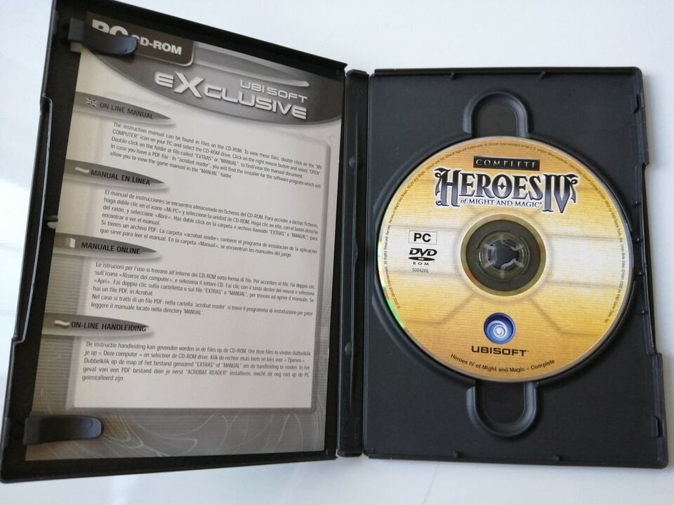 HEROES IV of MIGHT AND MAGIC,COMPLETE, til pc, action