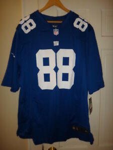 Hakeem Nicks Nike New York Giants NFL Men s Game Jersey XL ... a9b87bac0