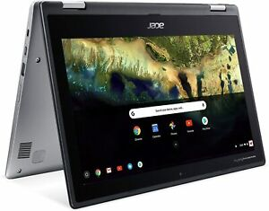 "🔥2021 New Acer Spin 2in1 11.6"" HD Touchscreen Chromebook Celeron N3350/4GB/32GB"