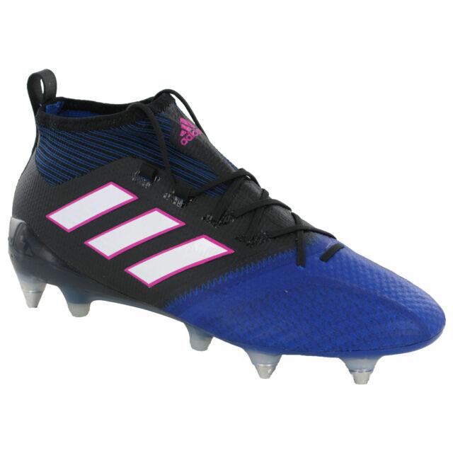 the latest a1b5d 76d8b Adidas ACE 17.1 PRIMEKNIT SG Football Boots Mens Studded Soccer Cleats  BA9820