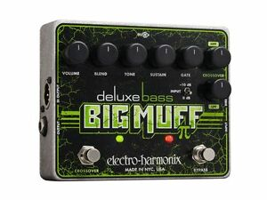Electro-Harmonix-Deluxe-Bass-Big-Muff-PI-Fuzz-Distortion-Bass-Effects-Pedal
