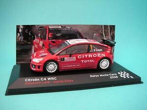 CITROEN-C4-WRC-LOEB-RALLY-MONTECARLO-2008-1-43-NUEVO-IXO-ALTAYA