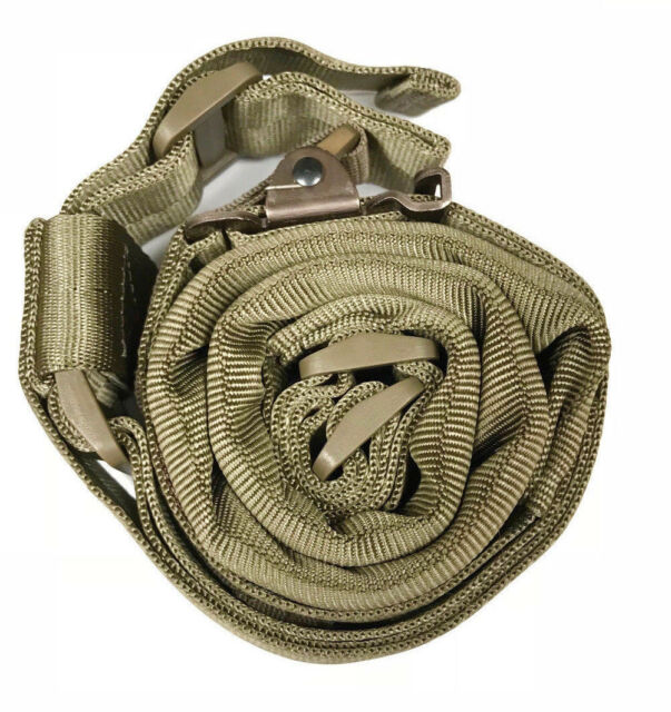 AlienTACS Wide Padded Quick Adjust 2 point gun Sling FDE MS3 MS4 compatible