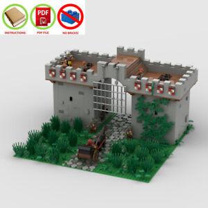 LEGO-MOC-PDF-Instructions-NO-BRICKS-Road-Blocks