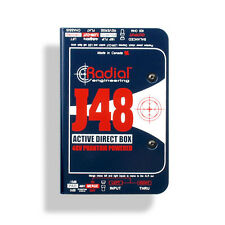 RADIAL J48 Active DI Direct Box W/ Pad & Phase Reverse
