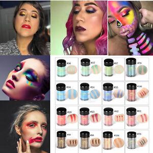 43-colores-maquillaje-de-ojos-desnudos-Sombra-de-Ojos-Mate-Brillo-en-polvo-cepillo-conjunto-pigmento