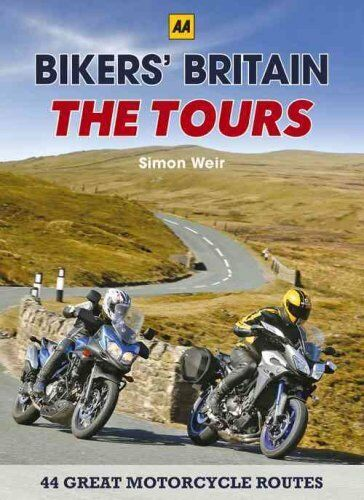 1 of 1 - Bikers' Britain - The Tours by Simon Weir 9780749577360 (Spiral bound, 2016)