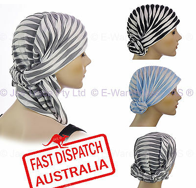 Chemo Hair Loss Control Multi-functional Stretch Scarf Head Band Cover Hat Wrap