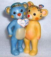 GOEBEL Rosina Wachtmeister Teddy Bär PEPPINO & CARLA stehen
