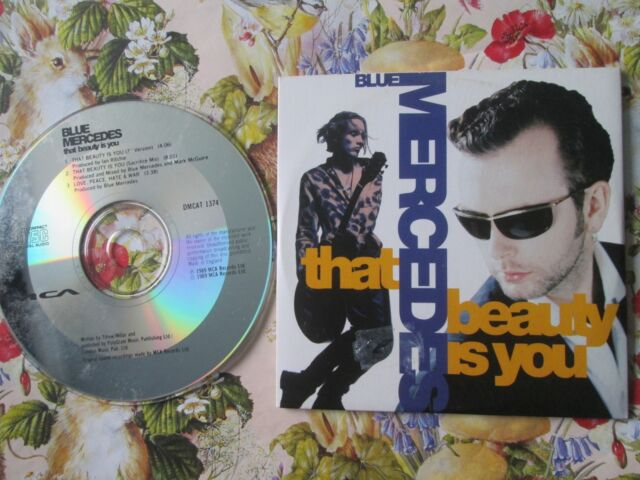 Blue Mercedes ‎– That Beauty Is You Label: MCA Records DMCAT 1374 UK CD Single
