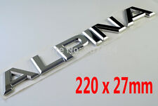 New ALPINA Chrome Trunk Emblem BMW 1 3 5 6 7 Series B3 D3 B5 D5 B6 B7 B10 V8