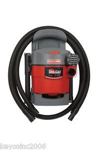 Craftsman Wall Mount Wet Dry Vac Garage Car Shop Vacuum