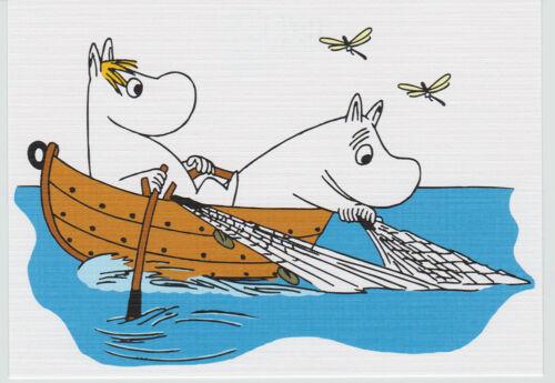 "licensed Karto Finland Moomin    Postcard  /""Tove100/"" serie"