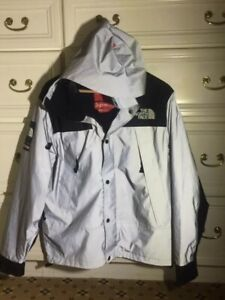 f2efe884c Details about Supreme The North Face TNF Reflective Silver Size M Medium  Mountain Jacket Parka