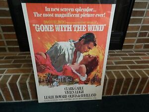 Gone With The Wind Poster 1967 | eBay