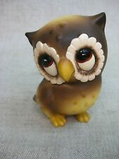 Vtg Josef Original Collectible Ceramic Owl Figurine
