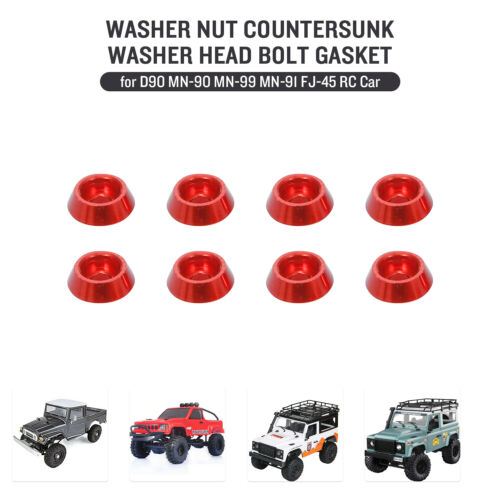 Replacement for MN-D90 MN-90 MN-99 MN-91 FJ-45 RC Car Washer Nut N9L0