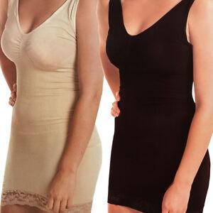 e44a9b51fe94e WOMEN FULL BODY SHAPER BODYSUIT THIGH BUM LIFT FIRM SLIM CONTROL ...