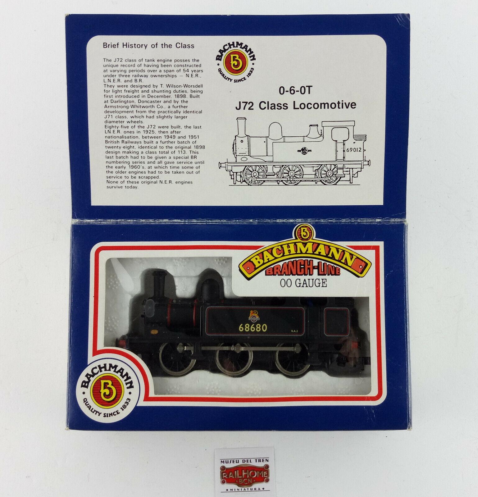 Bachmann H0 31 052 Steam Locomotive J72 klass 0 6 0t - Mycket bra villkor