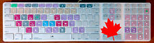 Cubase Hotkey Shortcuts Cover Skin for Wired Keyboard iMac, Ships from Canada