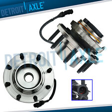 4wd Pair Front Wheel Bearing Amp Hub For 1999 2004 Ford F 250 F 350 Sd Excursion