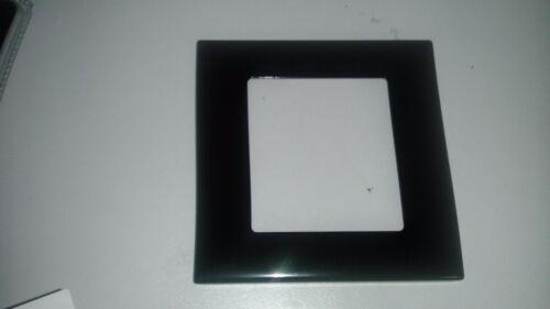 NV-WPM-2GB//44B Metal Double Gang Plaque Murale noir brillant Nuvo 1 PIECES