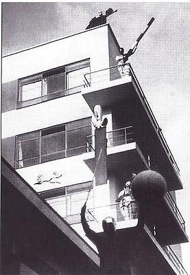 Kunstkarte/ Postcard Bauhaus - Oskar Schlemmer: Bauhaus Bühne. Der Bau als Bühne