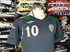 IRELAND third 2007/09 shirt - KEANE #10 -Leeds-Celtic-LA Galaxy-Tottenham-Jersey