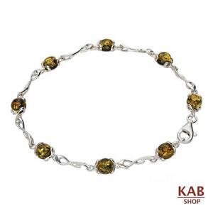 vert-ambre-baltique-argent-massif-925-beaute-Bracelet-Kab-118