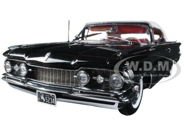 1959 OLDSMOBILE  98  fermé Convertible noir  platine  1 18 par SUNSTAR 5234