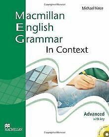 Macmillan-English-Grammar-in-Context-Advanced-with-key-A-libro-stato-bene