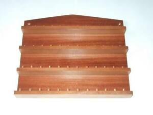 48pc-Wooden-Thimble-Display-Rack-Mahogany-huge-range-see-listing