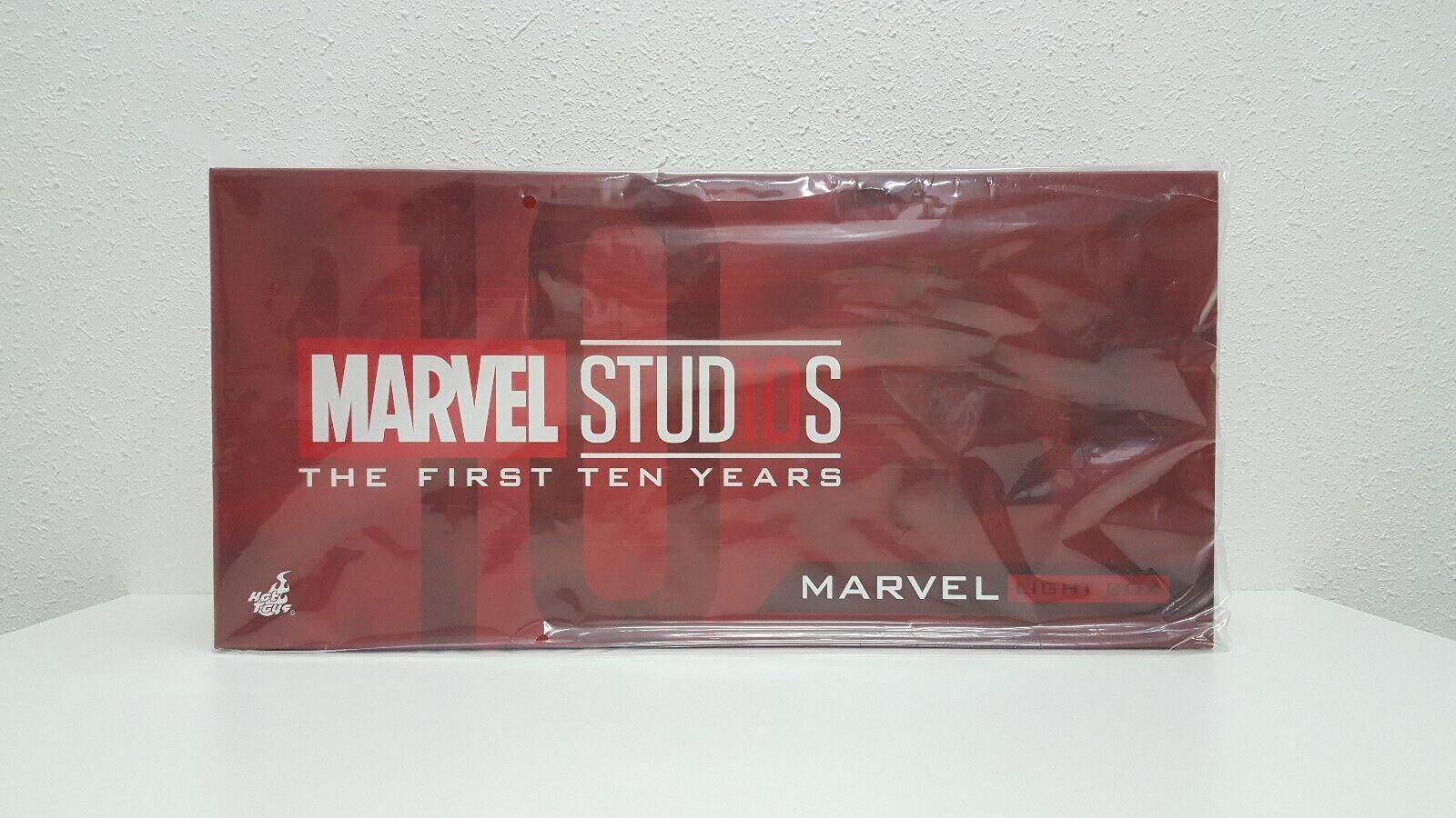 Hot Juguetes Marvel Studios de los primeros 10 años USB Caja de Luz (en Stock)
