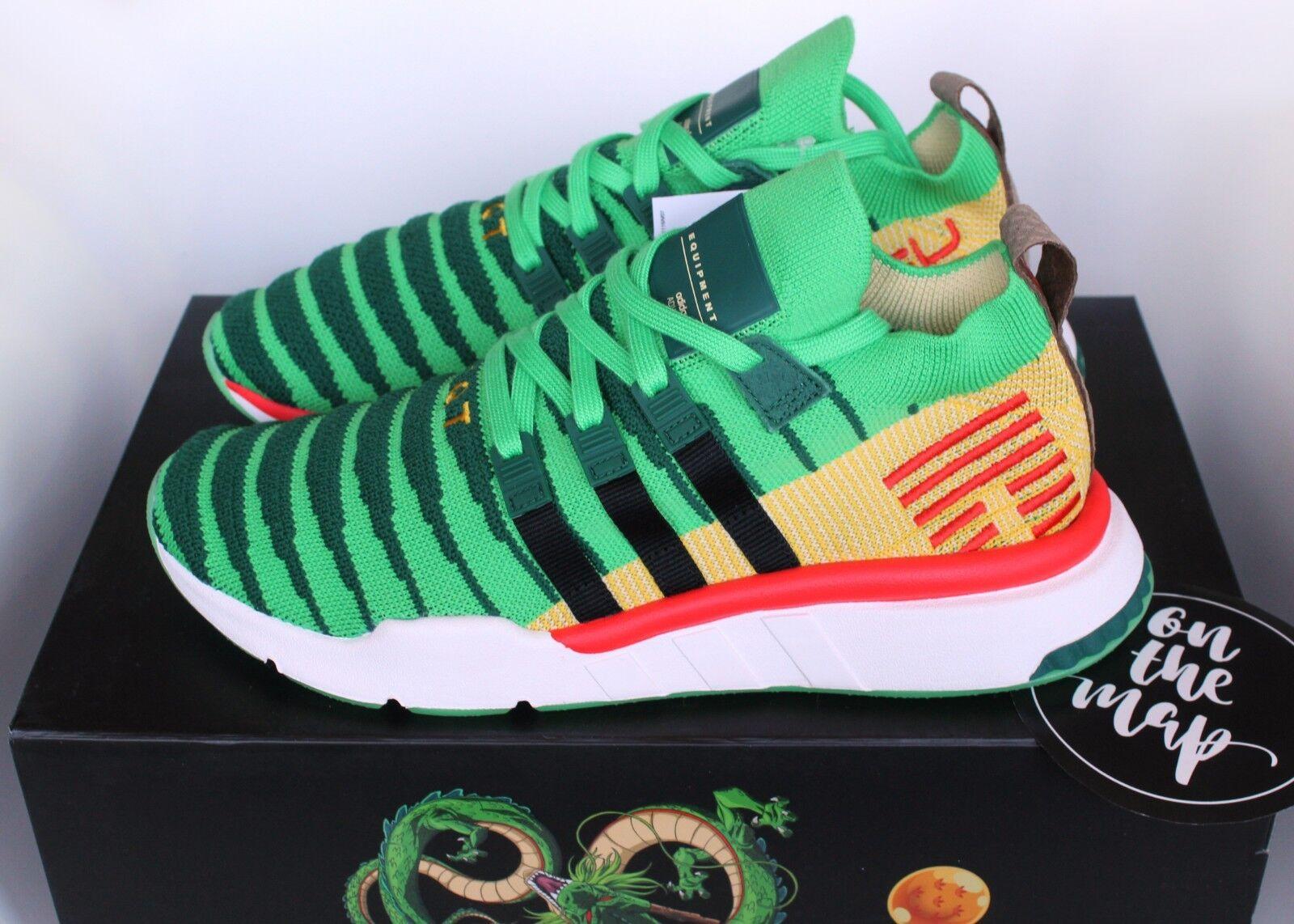 Adidas EQT Support Mid ADV Dragonball DBZ Shenron Green 5 6 7 8 9 10 11 12 13 14