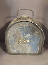 ANTIQUE VTG BOYCO FORD MODEL T OR A RUNNING BOARD WATER OIL GAS CAN CANTEEN (2)
