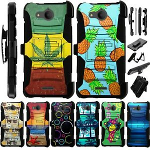 Details about For Alcatel Tetra AT&T Cricket Holster Phone Case Kick Stand  Cover Luxguard K11