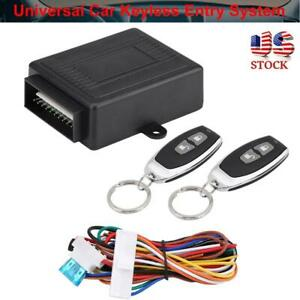 Universal-Car-Remote-Control-Central-Kits-Door-Lock-Locking-Keyless-Entry-System