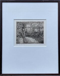 Mother-with-Child-on-a-journey-Birch-1979-Sweden-Denmark-Etching-51-5x41-5