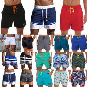 Men-Swimming-Board-Shorts-Beach-Shorts-Trunks-Swimwear-Sport-Running-Short-Pants