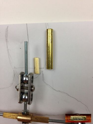 """M01132x5 MOREZMORE HPA 50 Cut 30mm Brass Round Tube 5//32/"""" #8128 Head Arm K/&S"""
