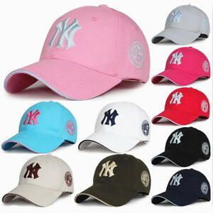 UK Men Women NY Bboy Adjustable Snapback Sport Hip-Hop Baseball Cap ... b4c067a6932