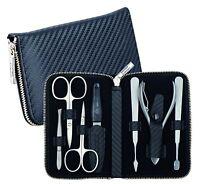 Becker-manicure Erbe Solingen 7 Pcs Set Manicure Case Series Carbon