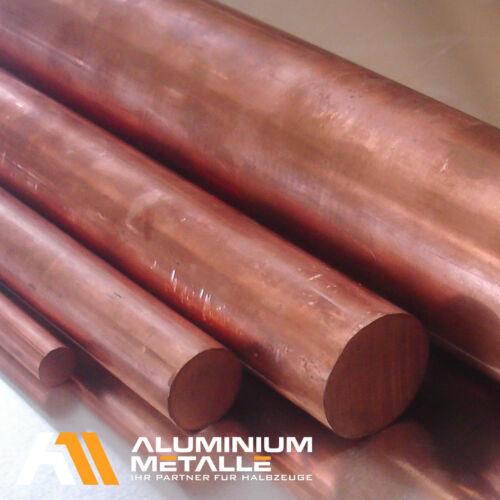 Kupfer rund Ø 3mm Länge wählbar  E-Cu57 CW004A Rundstange E-Kupfer Stab E-Kupfer