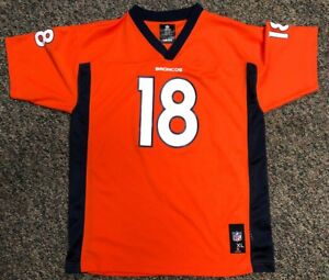Image is loading Peyton-Manning-Jersey-Denver-Broncos-Youth-XL-NFL- a06e07e1e
