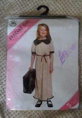 100% Vero Evacuato Girl Dress Up Costume Da 7 A 9 Anni Nuovo Con Etichette-mostra Il Titolo Originale Texture Chiara