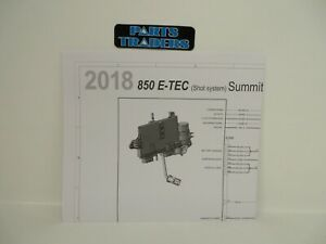 Genuine Ski Doo Dealer Manual Shot System Wiring Diagram 2018 850 E Tec Summit Ebay