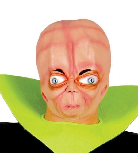 Maschera alieno in gomma