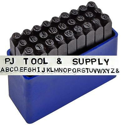 """Metal Letter Alphabet Stamps 1/16""""- Jewelry Making Set"""